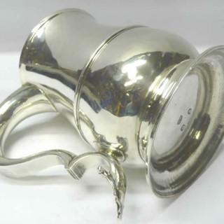 Large George III Silver Mug