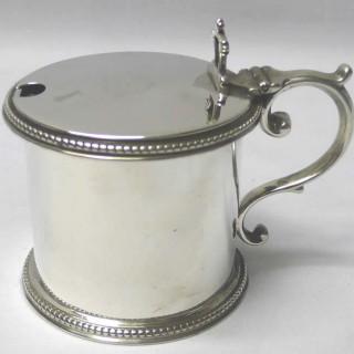 Victorian Silver Mustard Pot