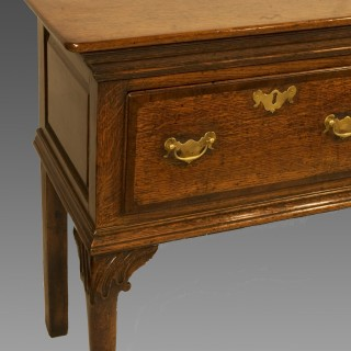 A Mid 18th George II Period Oak Dresser Base