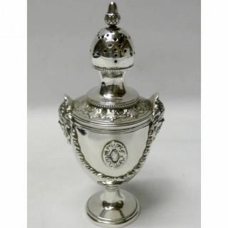 Antique Dutch Silver Caster