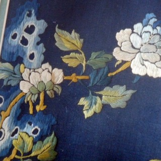 Chinese Antique Silk Embroidery