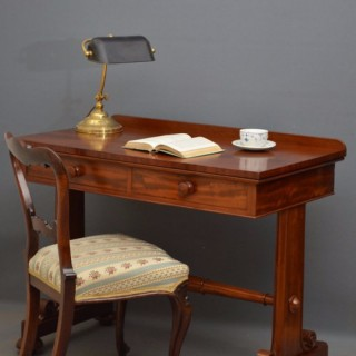 William IV Side Table / Writing Table