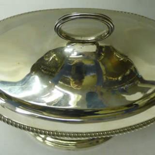 Georgian Silver Sauce Tureens by Paul Storr