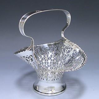 A George  V Antique Silver Basket