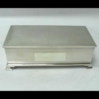 Vintage Silver Cigarette Box