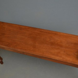 Late Victorian Hall Bench – Window Seat