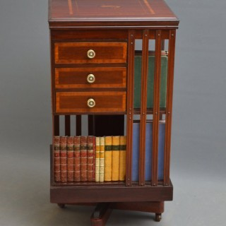 Late Victorian Revolving Bookcase