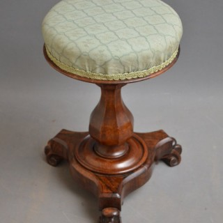 William IV Piano Stool / Dressing Stool