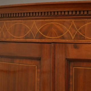 George III Corner Cupboard