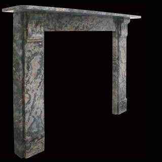 Late Victorian Ashburton Marble Fire Surround
