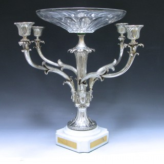 George IV Sterling Silver epergne centrepiece