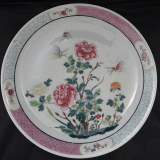 Porcelain | Chinese | Large Saucer Dish (China, c. 1850 to c. 1880)