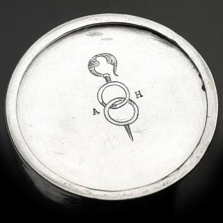 Renaissance Parcel Gilt Silver Beaker, German circa 1580