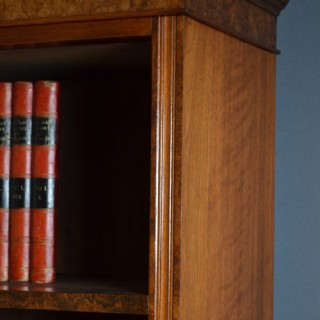Victorian Library Bookcase in Walnut