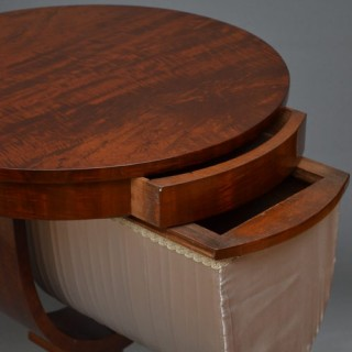 William IV Work Table in Mahogany