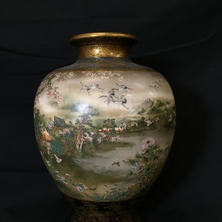 Kinkozan Vase