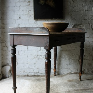 A Decorative Stained Pine Side Table c.1840