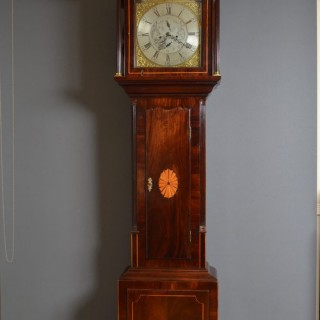 Georgian Longcase Clock by Anth. Hutchinson, Leeds