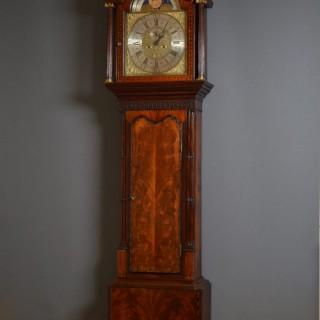 Georgian Longcase Clock by John Livesey, Bolton