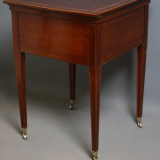Edwardian Drinks Table
