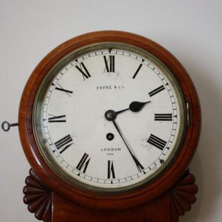 Regency Wall Clock by Payne & Co