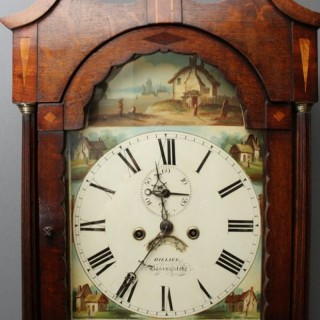 William IV Longcase Clock by Hillier, Basignstoke