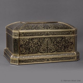 Napoleon III Boulle Marquetry Table Box