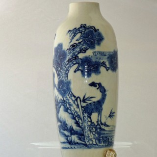 Chinese 18th Century Soft Paste Porcelain Vase