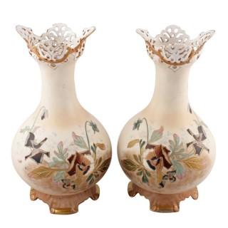 Pair of Porcelain Vases