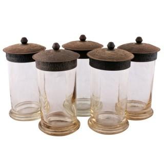 Five Rowntree's Gums Jars