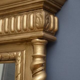 Victorian Giltwood Pier Mirror