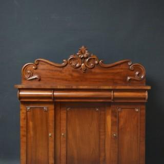 Small Victorian Mahogany Sideboard