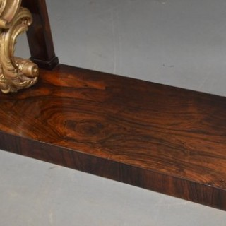 Magnificent Regency Console Table