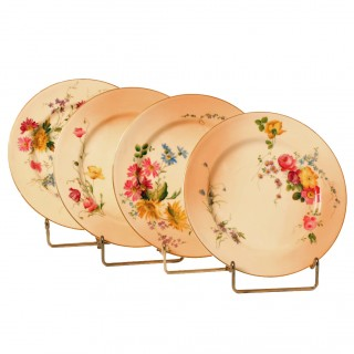 Four Royal Worcester Plates