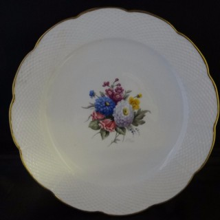 Royal Worcester Plate decorated by Horace Price
