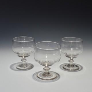 THREE GLASS RUMMERS