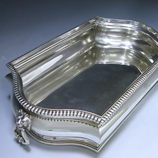 George V Antique Silver Jardinière