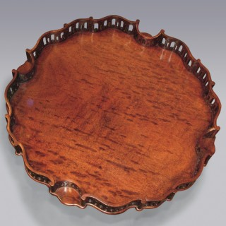 A fine antique Chippendale Revival mahogany Tripod Table