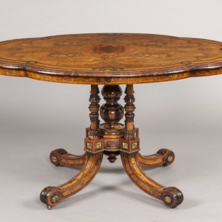 An Antique Shaped Centre Table by Gillows