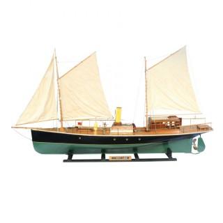 Model Steam Yacht, Ship, Boat.