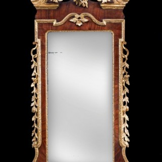 Antique 18th century mirror