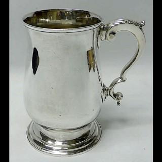 Georgian Silver Mug by Hester Bateman