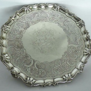 George II Salver by Robert Abercromby