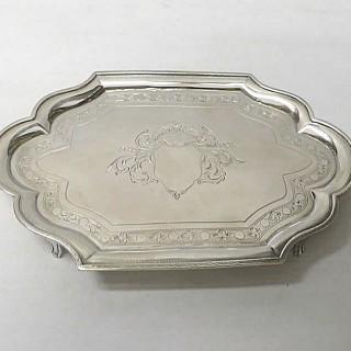 Georgian Silver Teapot Stand