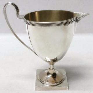 Georgian Silver Cream Jug
