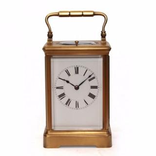 Strike repeat carriage clock, Henri Jacot