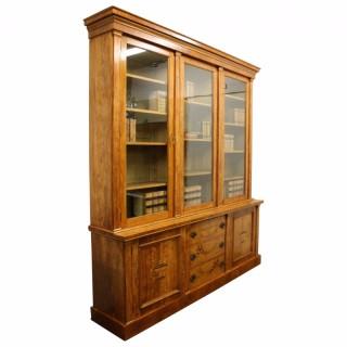 George III Style Satinwood Inlaid Cabinet