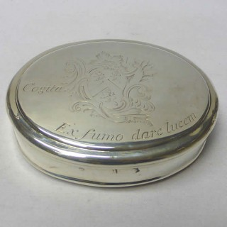 George II Tobacco Box