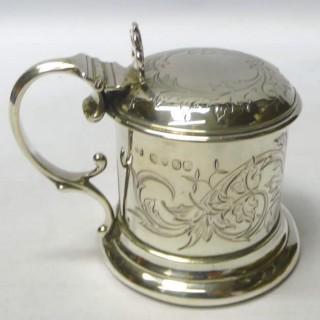 Antique Silver Mustard Pot