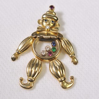 Chopard Happy Diamonds Clown  Pendant